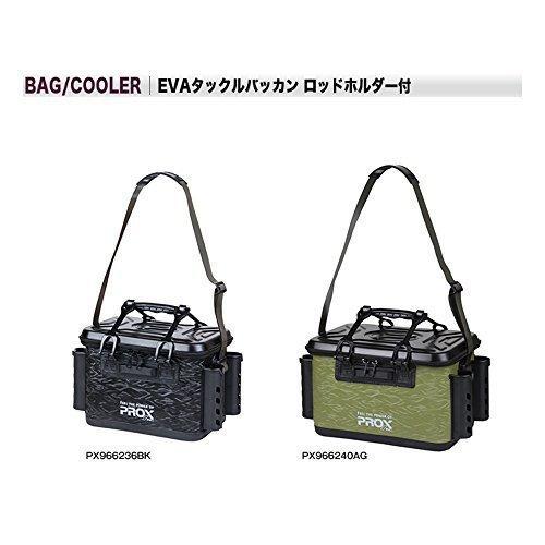 プロックス EVAタックルバッカン ロッドホルダー付 36cm/ブラック PX966236BK 36cm kotokotohiroba 03