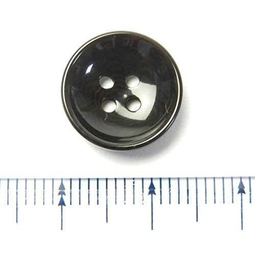 こげ茶色系 ナット調ボタン 13.5mm 4穴 100個入り SP5121T-13.5-DBR-248 (こげ茶色) kotoshiro 03