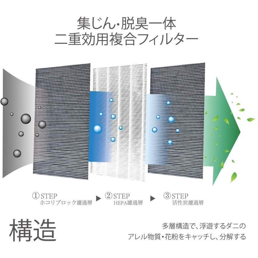 加湿空気清浄機交換用フィルター fzg40sf FZ-G40SF集じん・脱臭一体型フィルター 空気清浄機用交換部品 互換品(形名:FZ-G40SF) 新生活応援|kotoshopping|04