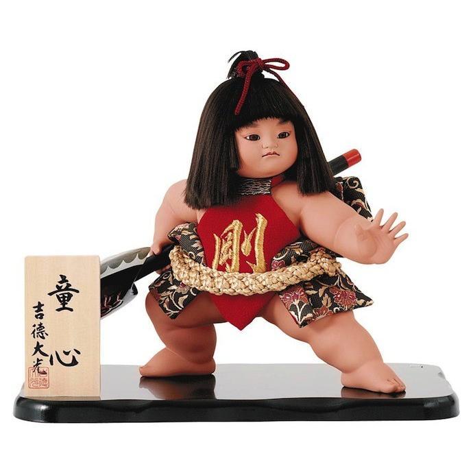 五月人形 初節句 吉徳 兜 子供大将飾り 武者人形 子供の日 端午の節句 ガラス 送料無料 金太郎 おしゃれ オシャレ