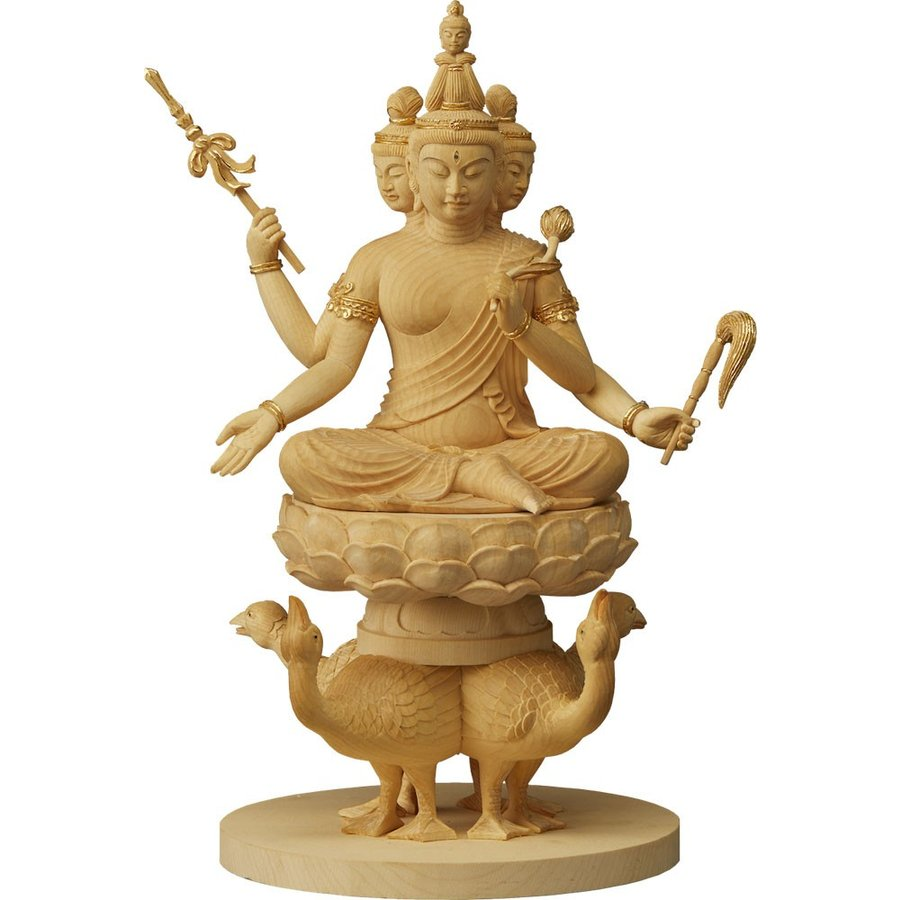 RIYAK 梵天 天部でも最高位に位置する守護神 【オブジェ・雑貨 縁起物】