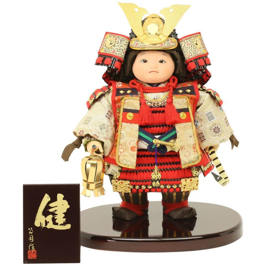 五月人形 コンパクト おしゃれ 健シリーズ 天祥オリジナル 武者人形