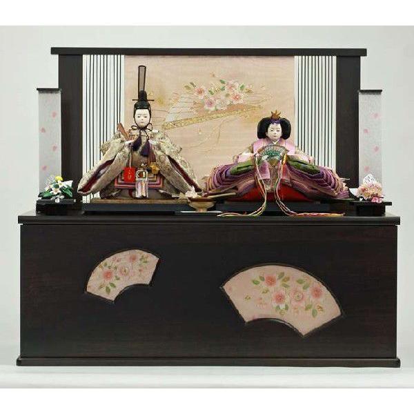 【好評にて期間延長】 雛人形 収納飾り 名入れ木札 ひな人形 親王飾り-季節玩具