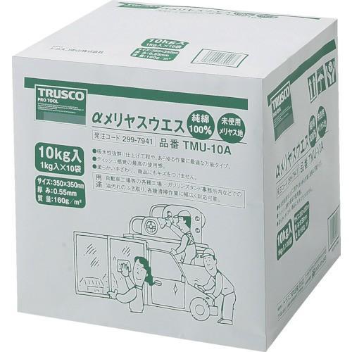 TRUSCO αメリヤスウエス 汎用タイプ 10kg TMU-10A