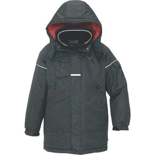 アイトス 防寒コート ブラックL AZ-6060-010-L 1392