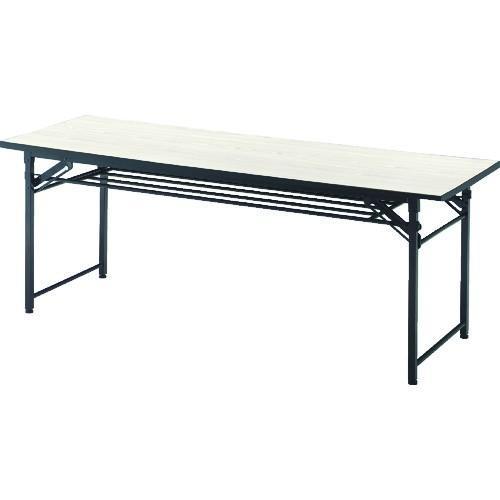 TRUSCO 折りたたみ会議テーブル 1800X450XH700 アイボリー TCT-1845 IV 8000