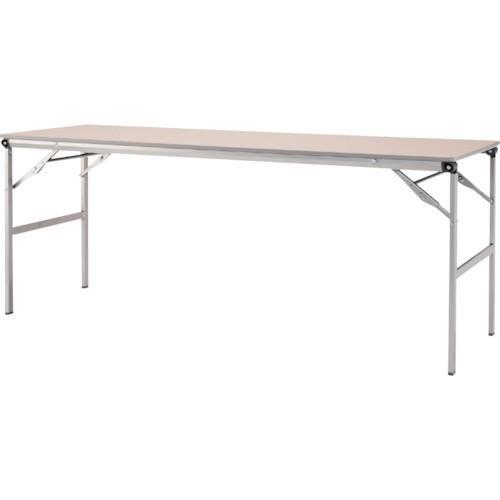 アイリスチトセ 折畳みテーブルLOT 棚無し1845サイズ ナチュラル LOT-1845-NA