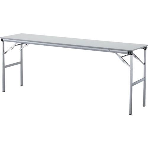 アイリスチトセ 折畳みテーブルLOT 棚無し1845サイズ ライトグレー LOT-1845-LGY 1416