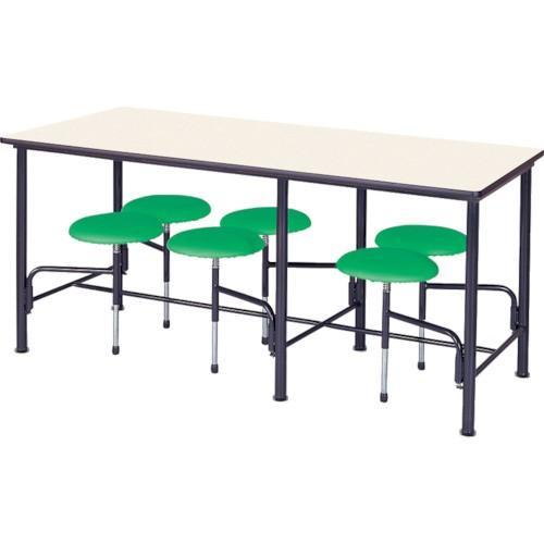 ニシキ 食堂テーブル 食堂テーブル 6人掛 グリーン STM1875GN 5074