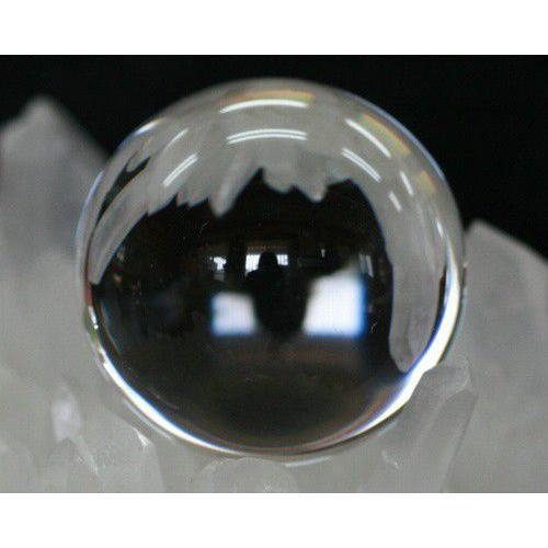 丸玉 本水晶 水晶 55mm ノーインクルージョン 本水晶 風水 置物 送料無料 天然石 本水晶  丸玉 パワーストーン