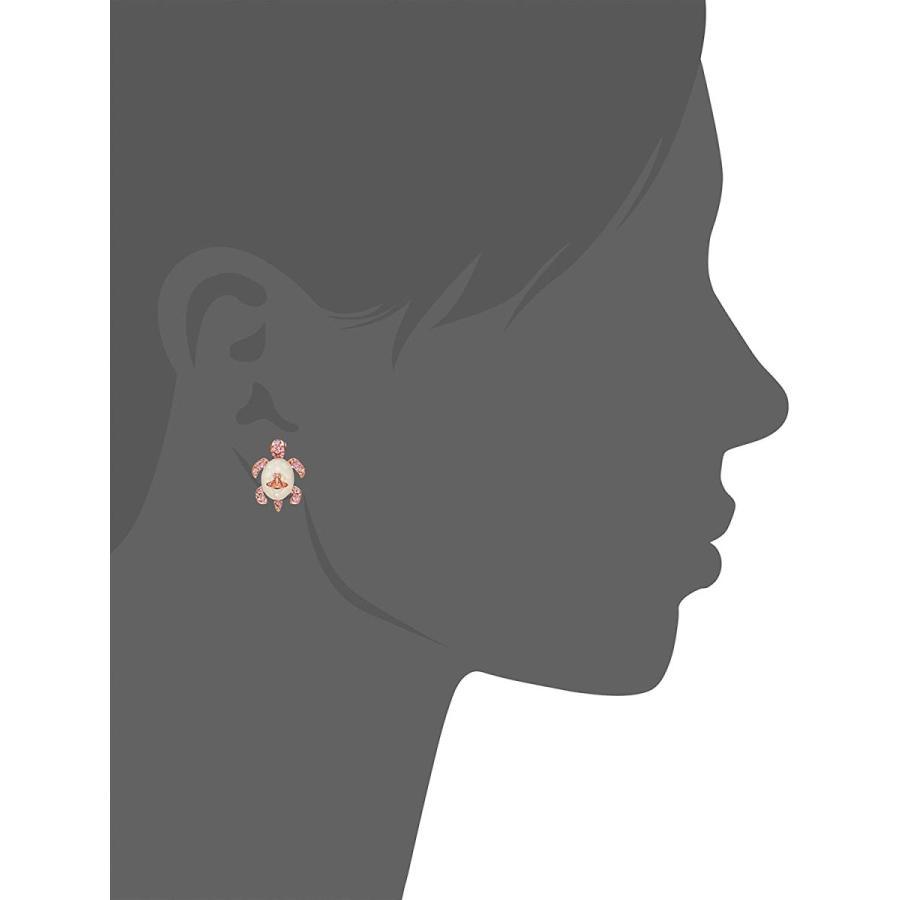新品 送料無料 ヴィヴィアン ウエストウッド Vivienne Westwood TURTLE タートル 亀 ピアス オーブ 62010203G kougasyou 02