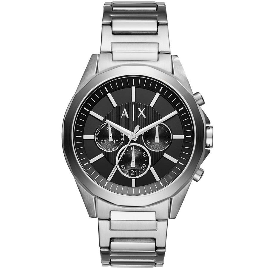 2年保証 新品 ARMANI EXCHANGE アルマーニエクスチェンジ 腕時計 AX2600 Drexler ドレクスラー ステンレス メンズ|kougasyou
