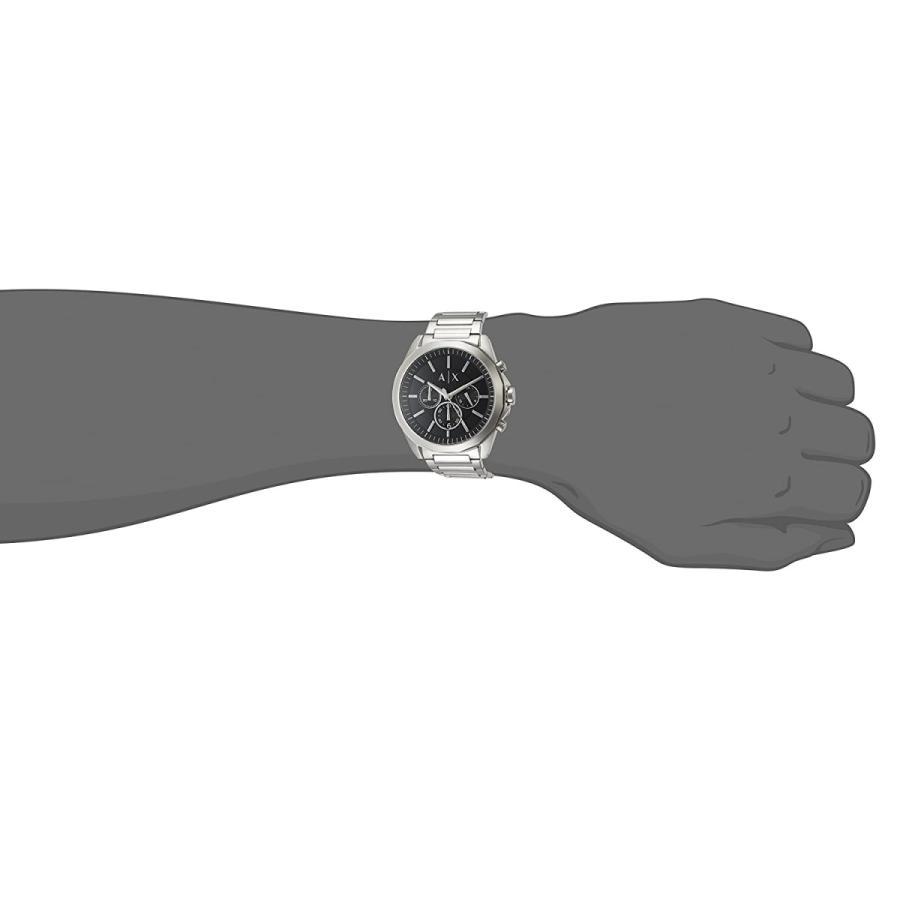 2年保証 新品 ARMANI EXCHANGE アルマーニエクスチェンジ 腕時計 AX2600 Drexler ドレクスラー ステンレス メンズ|kougasyou|04