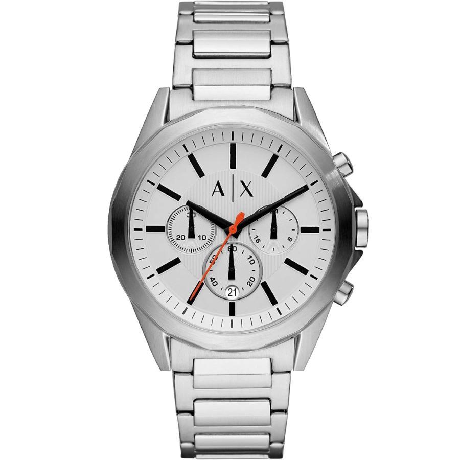 2年保証 新品 ARMANI EXCHANGE アルマーニエクスチェンジ 腕時計 AX2624 Drexler ドレクスラー ステンレス メンズ kougasyou