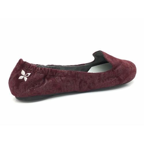 バタフライツイスト BUTTERFLY TWISTS 携帯用シューズ 外履きOK! 室内 靴 シューズ  BT1049 KEIRA(ケイラ)BURG バーグ ペイズリー  S M L 22.5-25c|kougasyou|02