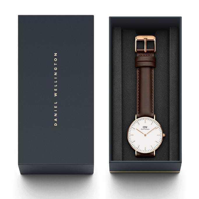 新品 2年保証 送料無料 36mm Daniel Wellington ダニエル ウェリントン 腕時計 DW00100039 DW00600039 kougasyou 05