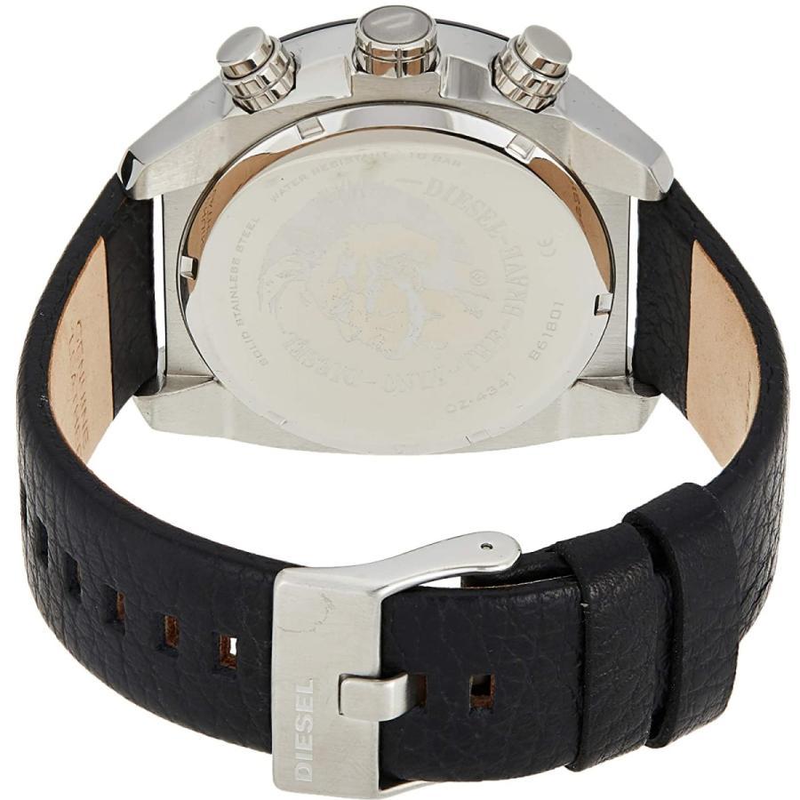 2年保証 新品 腕時計 DIESEL ディーゼル OVERFLOW オーバーフロー メンズ DZ4341 ステンレス レザー|kougasyou|03