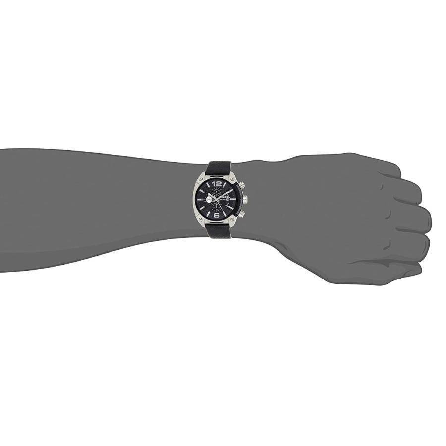 2年保証 新品 腕時計 DIESEL ディーゼル OVERFLOW オーバーフロー メンズ DZ4341 ステンレス レザー|kougasyou|04