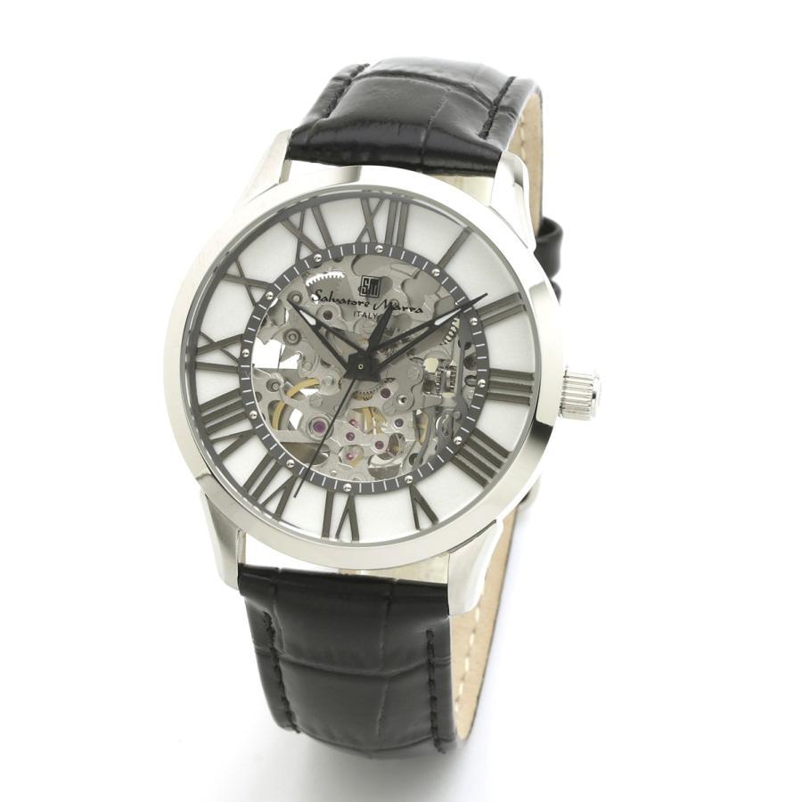 新品 2年保証 送料無料 Salvatore Marra サルバトーレマーラ 腕時計 SM19153 SM19153-SSWH メンズ 男性 ステンレス|kougasyou