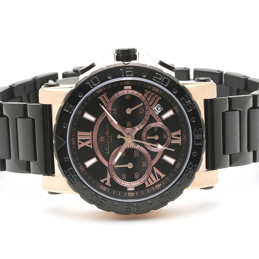 新品 2年保証 送料無料 Salvatore Marra サルバトーレマーラ 腕時計 SM20101 SM20101-PGBK メンズ 男性 ステンレス kougasyou 02