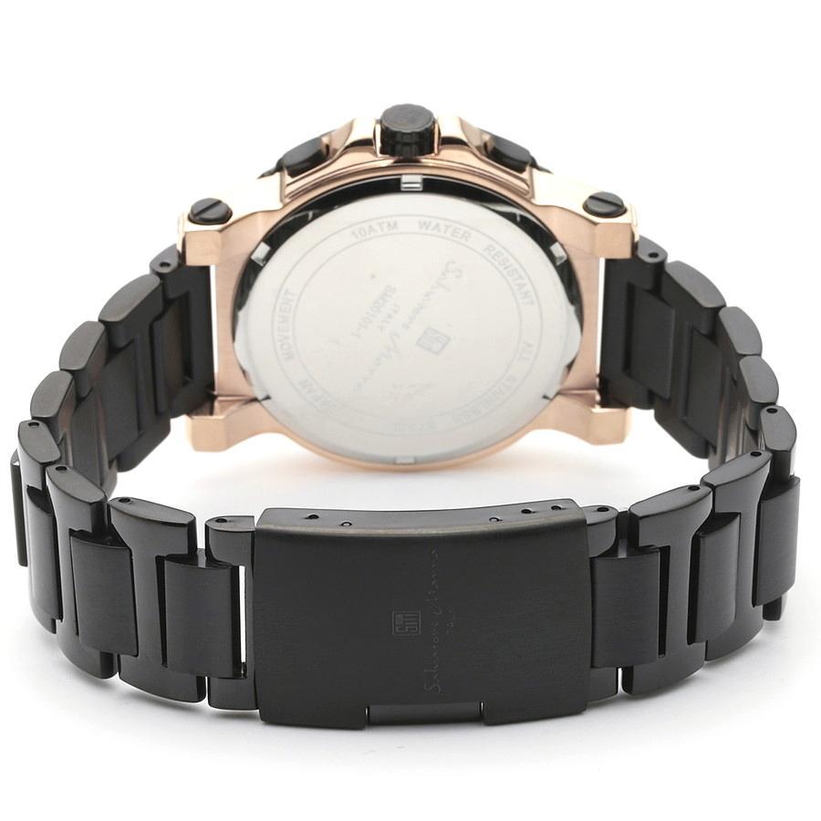 新品 2年保証 送料無料 Salvatore Marra サルバトーレマーラ 腕時計 SM20101 SM20101-PGBK メンズ 男性 ステンレス kougasyou 03
