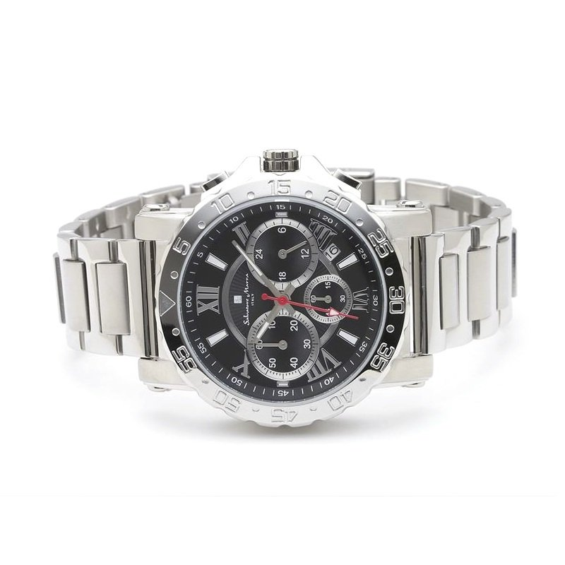 新品 2年保証 送料無料 Salvatore Marra サルバトーレマーラ 腕時計 SM20101 SM20101-SSBK メンズ 男性 ステンレス|kougasyou|02