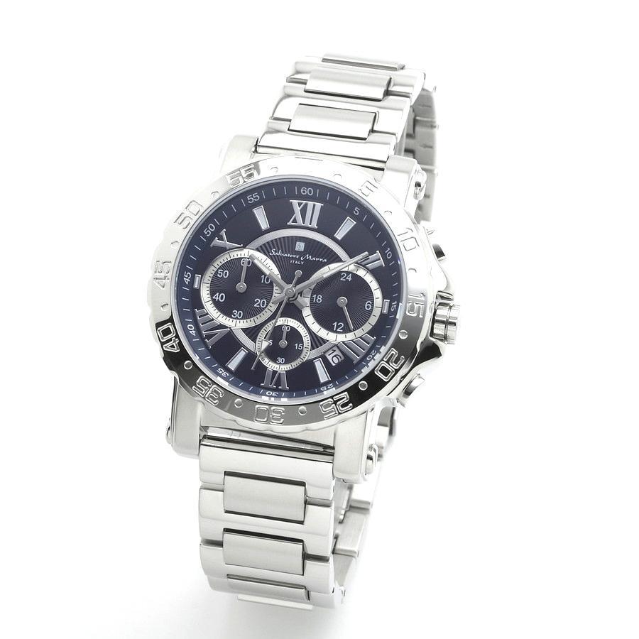 新品 2年保証 送料無料 Salvatore Marra サルバトーレマーラ 腕時計 SM20101 SM20101-SSBL メンズ 男性 ステンレス kougasyou