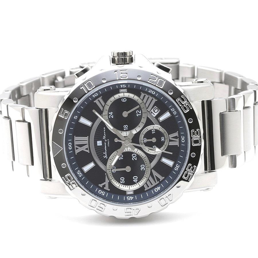 新品 2年保証 送料無料 Salvatore Marra サルバトーレマーラ 腕時計 SM20101 SM20101-SSBL メンズ 男性 ステンレス kougasyou 02