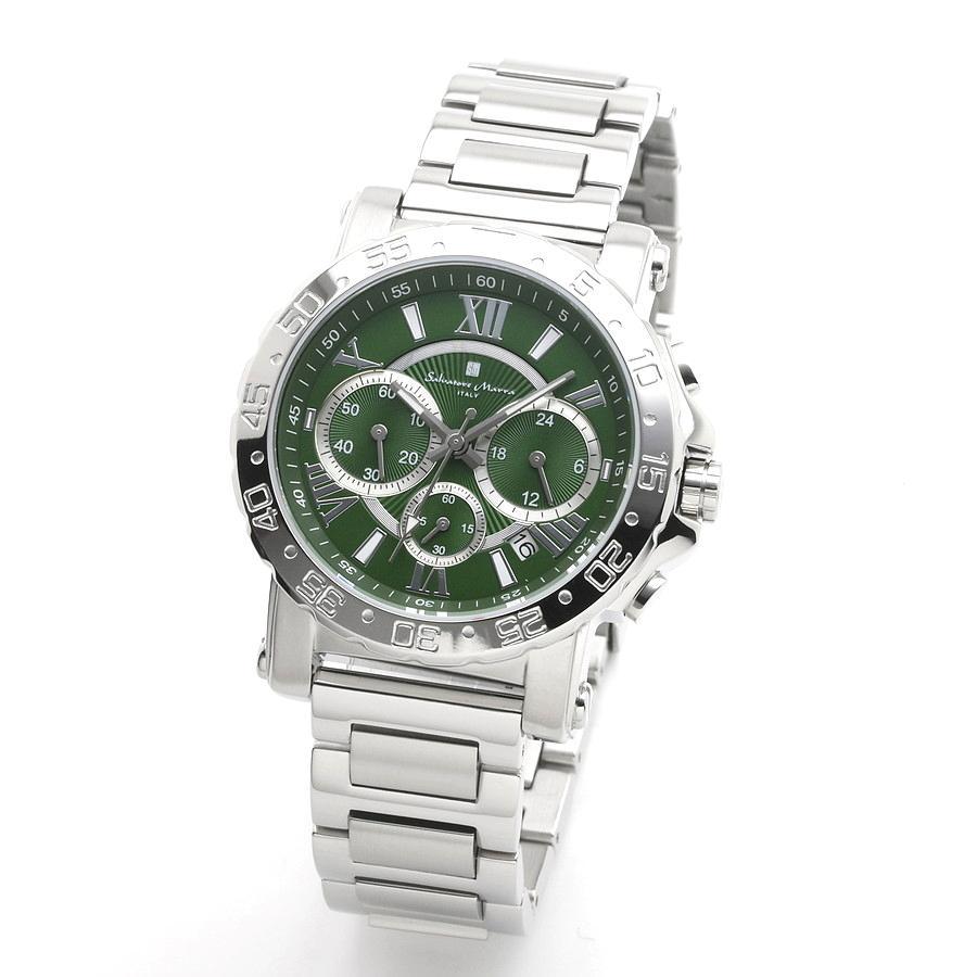 新品 2年保証 送料無料 Salvatore Marra サルバトーレマーラ 腕時計 SM20101 SM20101-SSGR メンズ 男性 ステンレス|kougasyou
