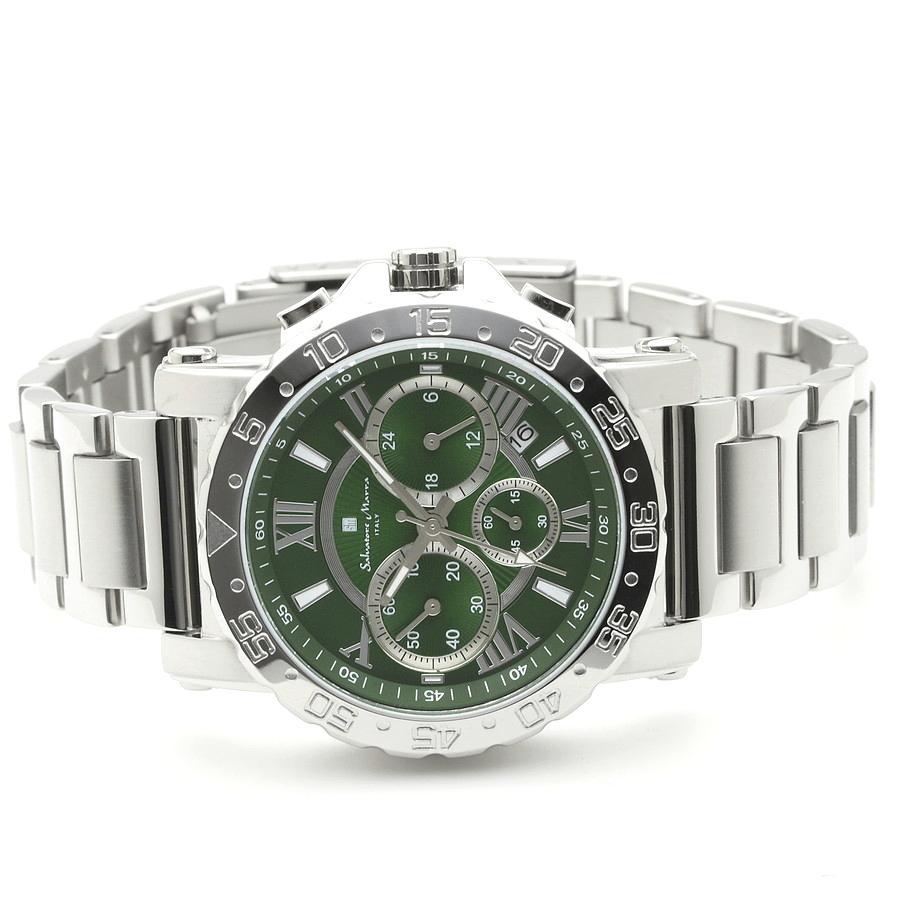 新品 2年保証 送料無料 Salvatore Marra サルバトーレマーラ 腕時計 SM20101 SM20101-SSGR メンズ 男性 ステンレス|kougasyou|02