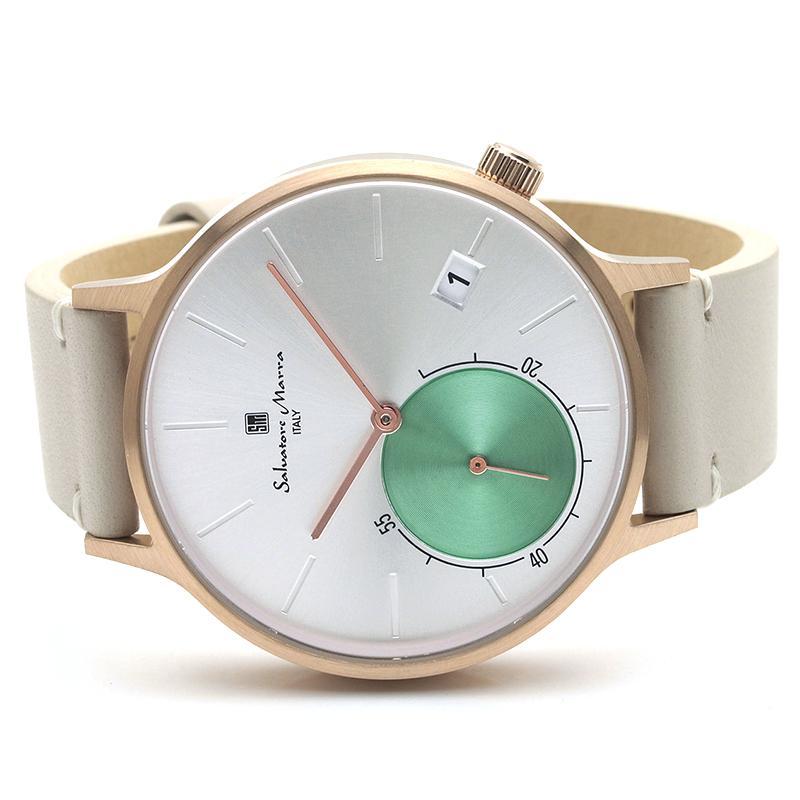 新品 2年保証 送料無料 Salvatore Marra サルバトーレマーラ 腕時計 SM20105 SM20105-PGSV ユニセックス ステンレス kougasyou 02