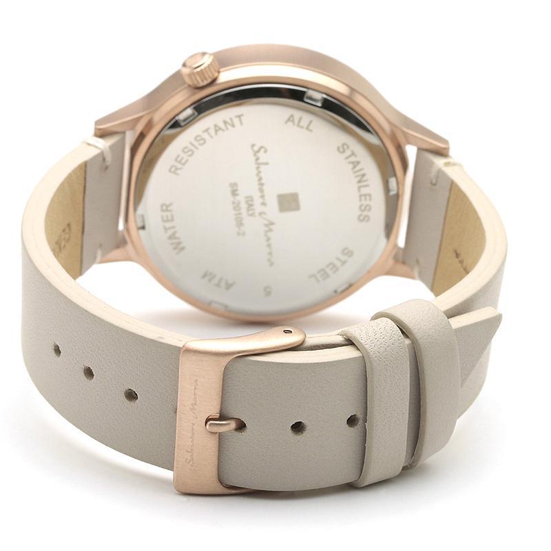 新品 2年保証 送料無料 Salvatore Marra サルバトーレマーラ 腕時計 SM20105 SM20105-PGSV ユニセックス ステンレス kougasyou 03