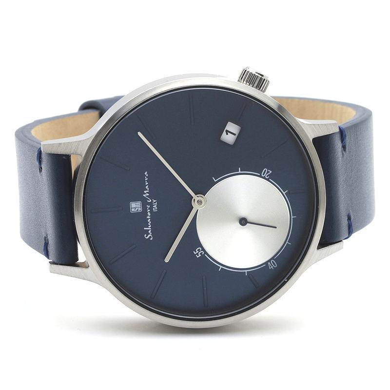 新品 2年保証 送料無料 Salvatore Marra サルバトーレマーラ 腕時計 SM20105 SM20105-SSBL ユニセックス ステンレス kougasyou 02