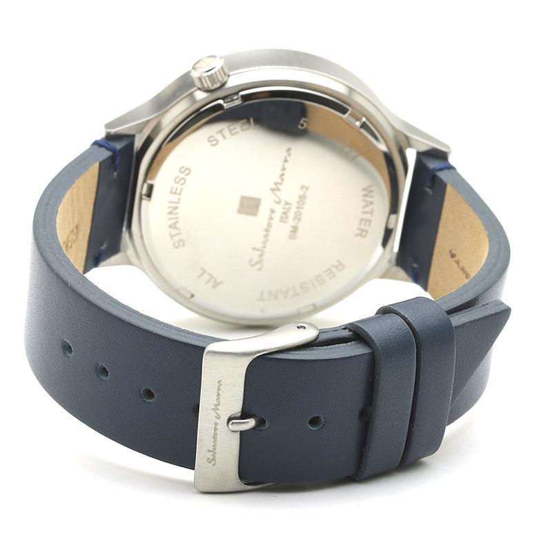 新品 2年保証 送料無料 Salvatore Marra サルバトーレマーラ 腕時計 SM20105 SM20105-SSBL ユニセックス ステンレス kougasyou 03