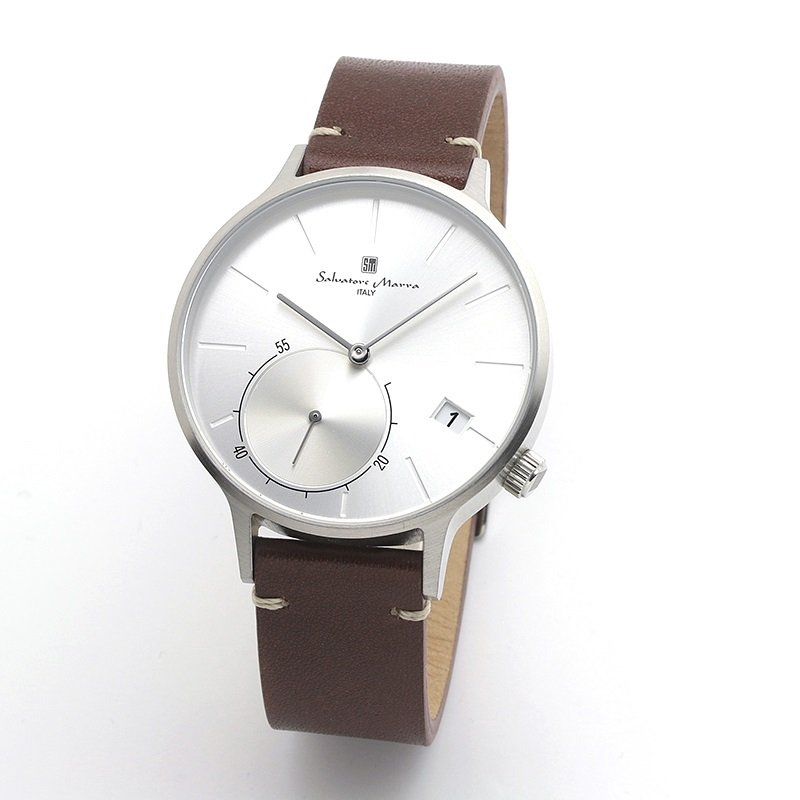 新品 2年保証 送料無料 Salvatore Marra サルバトーレマーラ 腕時計 SM20105 SM20105-SSSV ユニセックス ステンレス|kougasyou