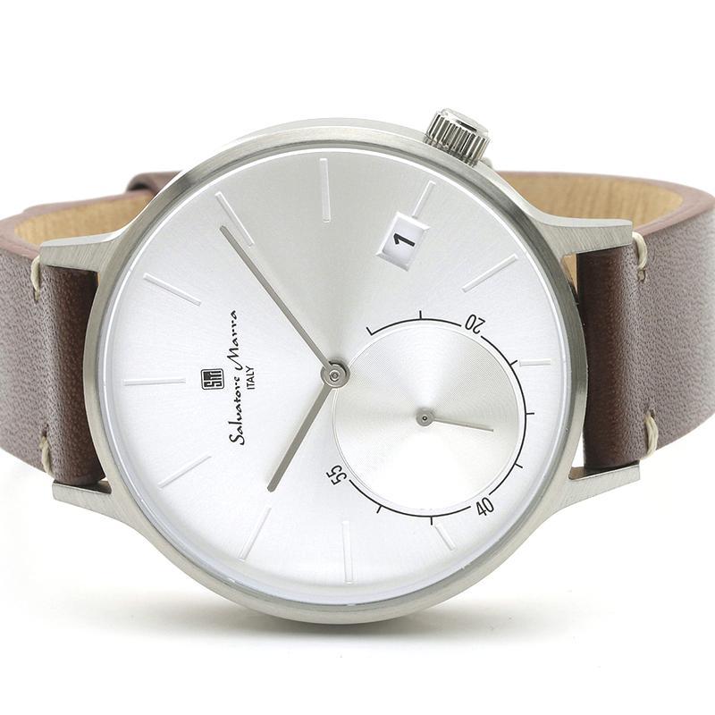 新品 2年保証 送料無料 Salvatore Marra サルバトーレマーラ 腕時計 SM20105 SM20105-SSSV ユニセックス ステンレス|kougasyou|02