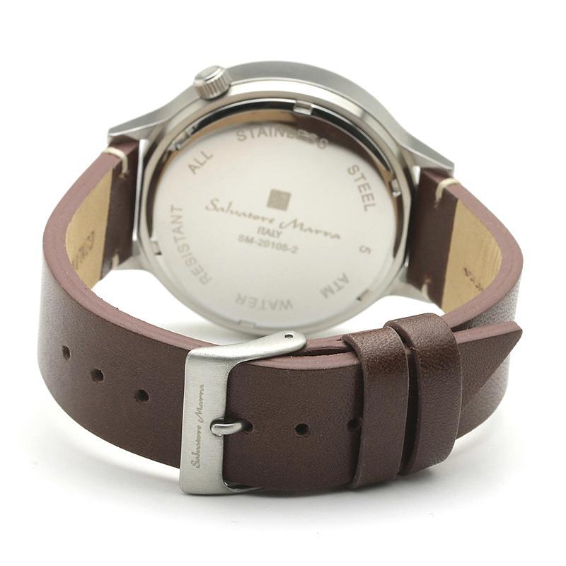 新品 2年保証 送料無料 Salvatore Marra サルバトーレマーラ 腕時計 SM20105 SM20105-SSSV ユニセックス ステンレス|kougasyou|03