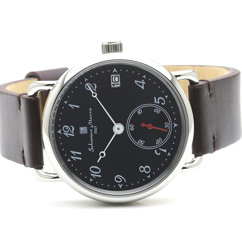 新品 2年保証 送料無料 Salvatore Marra サルバトーレマーラ 腕時計 SM20106 SM20106-SSNVBR ユニセックス ステンレス kougasyou 02