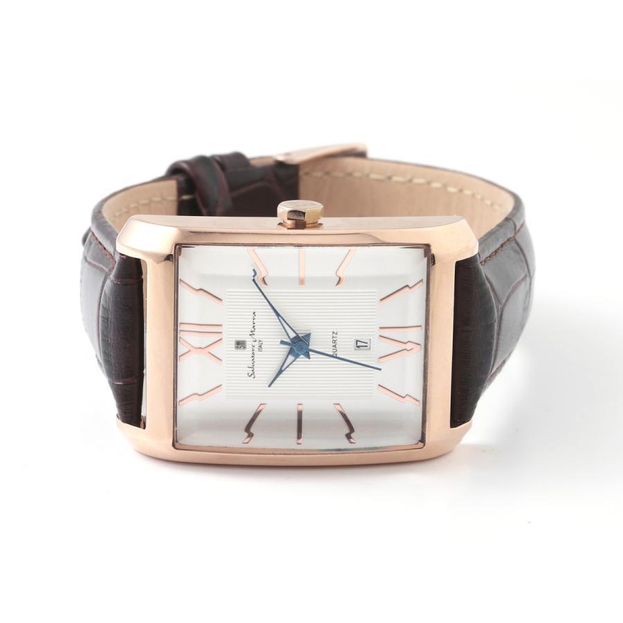 新品 2年保証 送料無料 Salvatore Marra サルバトーレマーラ 腕時計 SM21101 SM21101-PGWH メンズ 男性 ステンレス|kougasyou|02