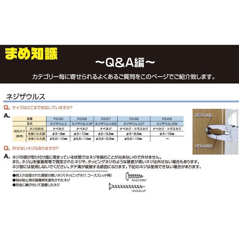 トラスコ(TRUSCO) なめたネジはずし工具セット5点 型式;TNNS-5|kougu-shop|05
