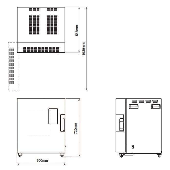 日本電産シンポ マイコン付小型電気窯 型式;DMT-01|kougu-shop|04