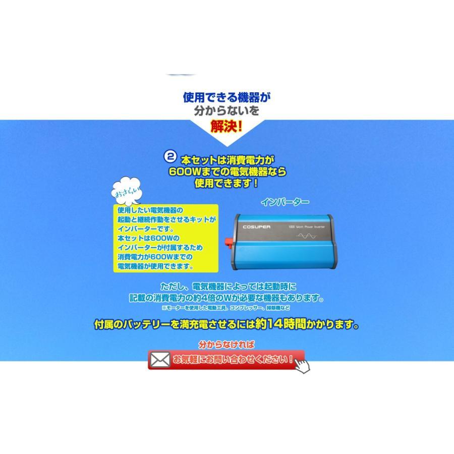 ソーラーパネル 300w 自作DIY用初めてセット|kouguitiba|09