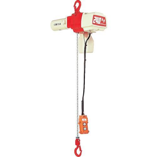 キトー セレクト 電気チェーンブロック 1速 100kg(S)x3m (1台) 品番:ED10S