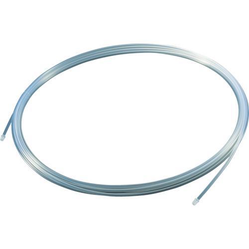 トラスコ フッ素樹脂チューブ 内径10mmX外径12mm 長さ10m (1巻) 品番:TPFA12-10