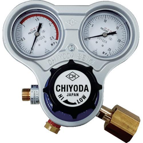 千代田 酸素用調整器スタウト(関東式)乾式安全器内蔵型 (1個) 品番:SRO-A-E