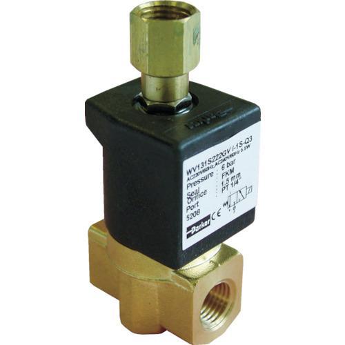 クロダ 流体制御用直動形3ポートバルブ (1台) 品番:WV131S222JV-I-1S-C2-11W