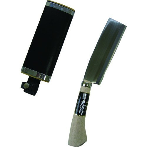 豊稔 光山作安来鋼青紙両刃腰鉈165mm (1丁) 品番:HT-3511