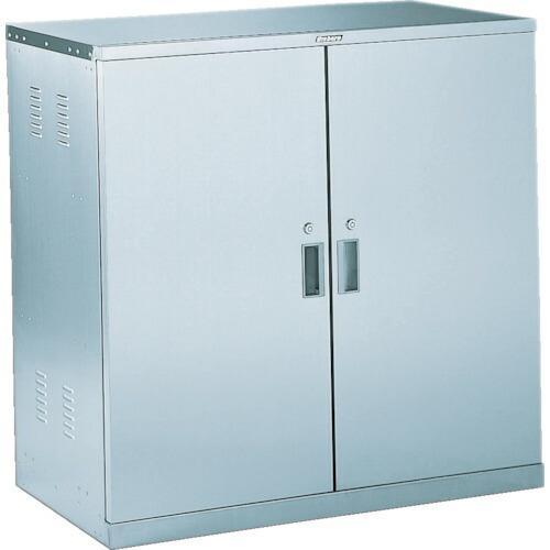 トラスコ 耐震薬品庫 両開型 棚スライド式 900X500XH900 (1台) 品番:SWT