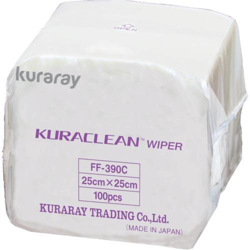 クラレ クリーンワイパー25cm×25cm100枚×30袋/Cs(箱)3000枚 (1Cs) 品番:FF-390C