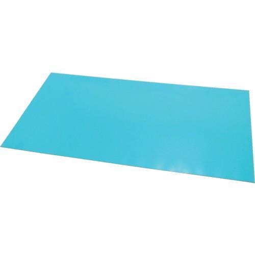 エクシール ステップマット薄型6mm厚 900×1200 ブルーグリーン (1枚) 品番:MAT6-1209